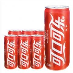 可口可乐 酸饮料汽水(细长罐) 一件330mlx24听 到店自取 厦门市软件园二期观日路4号103单