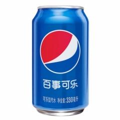 百事 可乐罐装330ml 一件24罐 330ml 厦门市