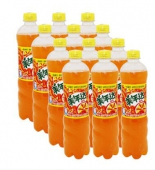 百事 美年达瓶装600ml 一件12瓶 橙味 厦门市