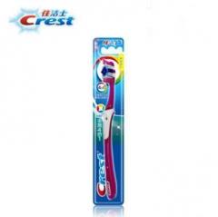 佳洁士(CREST) 佳洁士多效四合一牙刷软毛清洁牙齿高效抑菌 单支装 全国