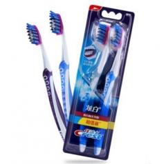 佳洁士(Crest) 3D炫白 亮白抛光牙刷 2支装 全国