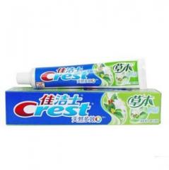 佳洁士(Crest)草本水晶牙膏 一支140g 福建省
