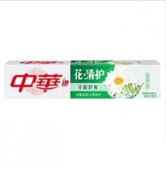 中华花清护牙膏(清菊百合) 一支180g 福建省