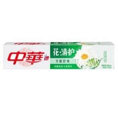 中华花清护牙膏(清菊百合) 一支140g 福建省