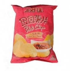 上好佳 田园薯片 八宝酱味 50g 全国