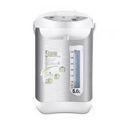 名健BM-50CE10电热水瓶家用保温304不锈钢5L水壶泡奶冲茶 白色 全国送达 全国联保