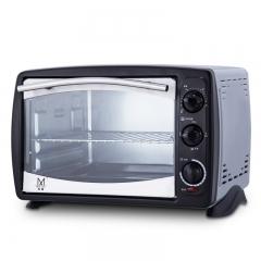 名健KS28CL-2T-S1烤箱家用烘焙多功能全自动蛋糕电烤箱21升大容量正品 黑色 全国送达 全国