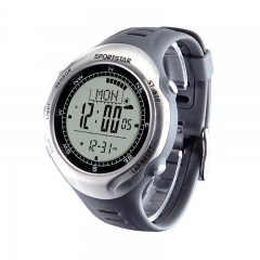 户外大师III海拔表高度温度罗盘心率运动户外手表 登山表