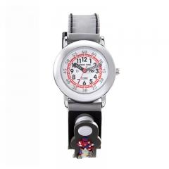雅珂珐瑞 3D男童女童防水石英图案装饰手表 时尚潮流儿童套装手表