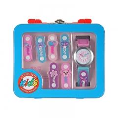 雅珂珐瑞儿童手表柔软硅胶表带礼盒装男女儿童手表 粉色 深圳 全国