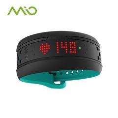 美国MIO迈欧fuse心率表光电监测手环计步游泳运动户外跑步手表 浅绿色 深圳 全国送达
