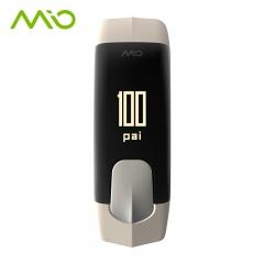 新品上市mio迈欧SLICE手环智能运动手环户外心率检测手表PAI 灰色 S 全国送达