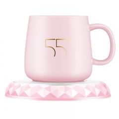 格美纳暖暖杯约55度加热器自动恒温杯垫家用保温水杯子热牛奶神器