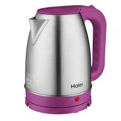 海尔烧水壶家用不锈钢大容量电热水壶自动断电宿舍煮水壶开水壶