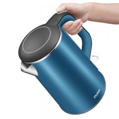 海尔电热水壶家用 不锈钢烧水壶无缝内胆自动断电大容量开水壶