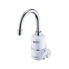 电热水龙头速热即热式加热厨房宝快速过自来水热电热水器加热水龙头免安装家用厨房卫生间小型加热器 弯管侧