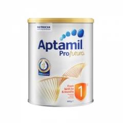 澳洲原装Aptamil新西兰爱他美1段白金版婴儿配方奶粉1段900g0-6个月*单罐