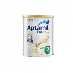 澳洲原装Aptamil新西兰爱他美较大婴儿配方奶粉2段白金版6-12个月
