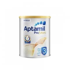 澳洲原装Aptamil新西兰爱他美幼儿奶粉3段白金版1-3岁900g一周岁及以上