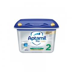 德国Aptamil爱他美2段白金版奶粉婴儿配方奶粉6-12个月二段铂金*单罐奶粉2段新包装800g