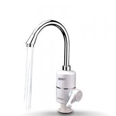电热水龙头弯管下进水即热式加热厨房宝快速过自来水热电热水器家用免安装卫生间过水热速热加热器小型厨宝